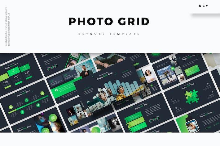 Thumbnail for Photo Grid - Keynote Template