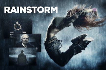 Rainstorm Photoshop Action CS3+