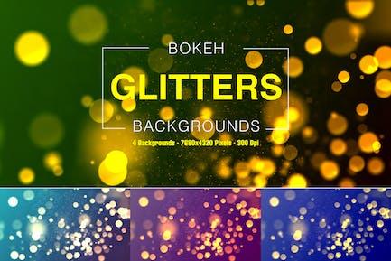Bokeh Glitters