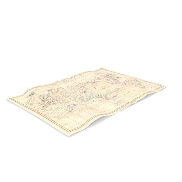 Антикварная карта