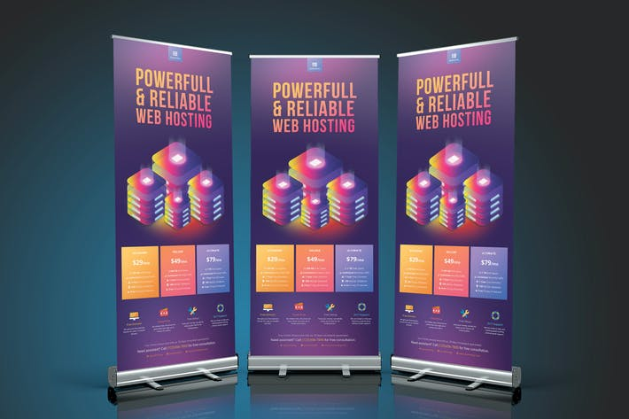 Thumbnail for Web Hosting Roll Up Banner 1