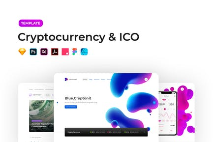 Cryptocurrency & ICO Template