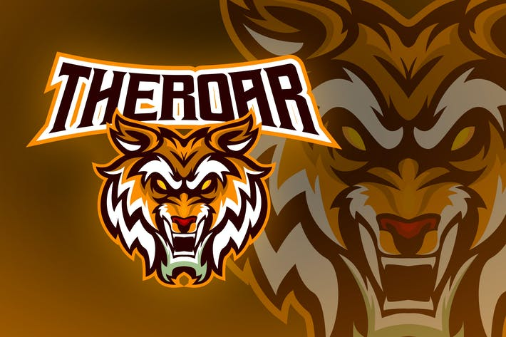 Thumbnail for Angry Tiger Esport Logo