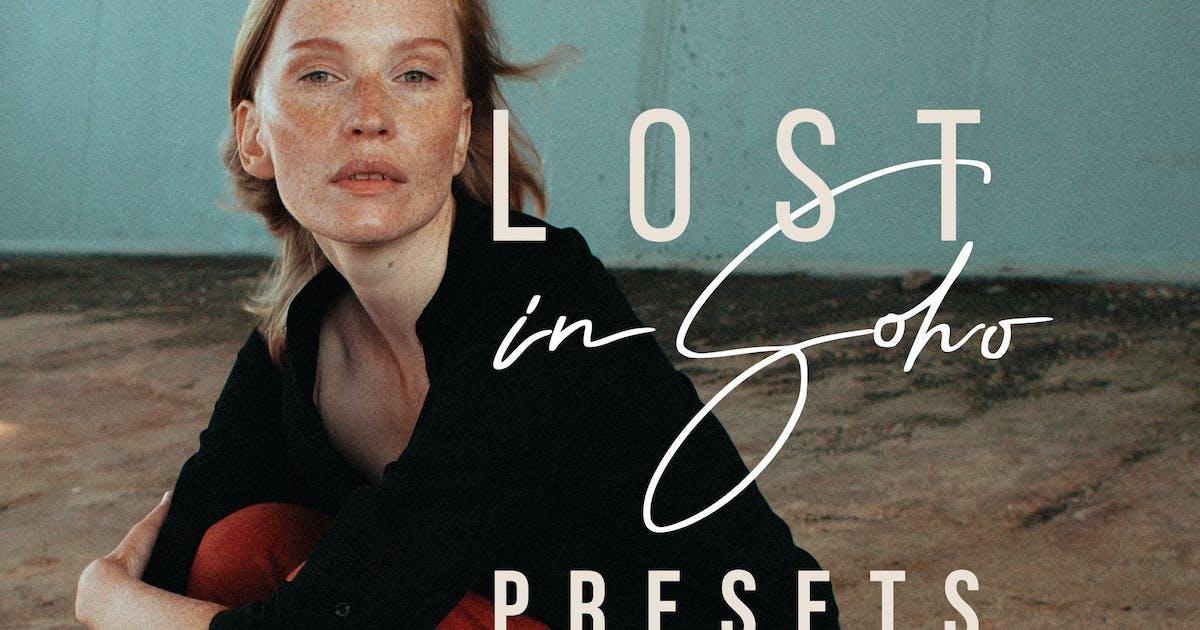 Download Lost in Soho - Lightroom & ACR Presets by Presetrain