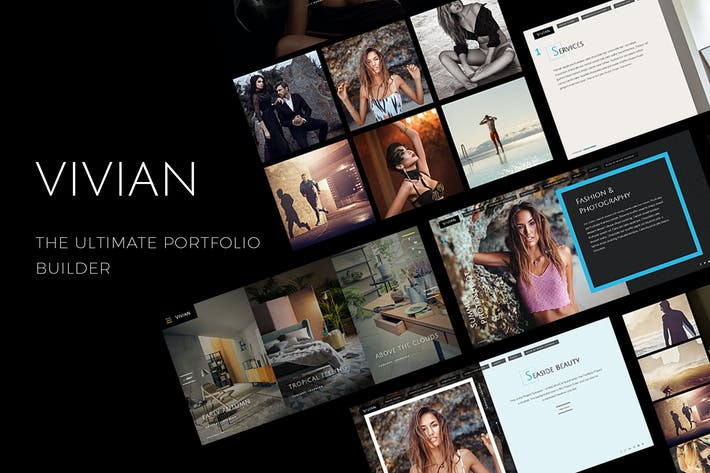Thumbnail for Vivian - Creative Multi-Purpose Theme