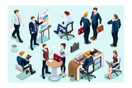 Brainstorming Cartoon Konzept Erfindung Sitzung