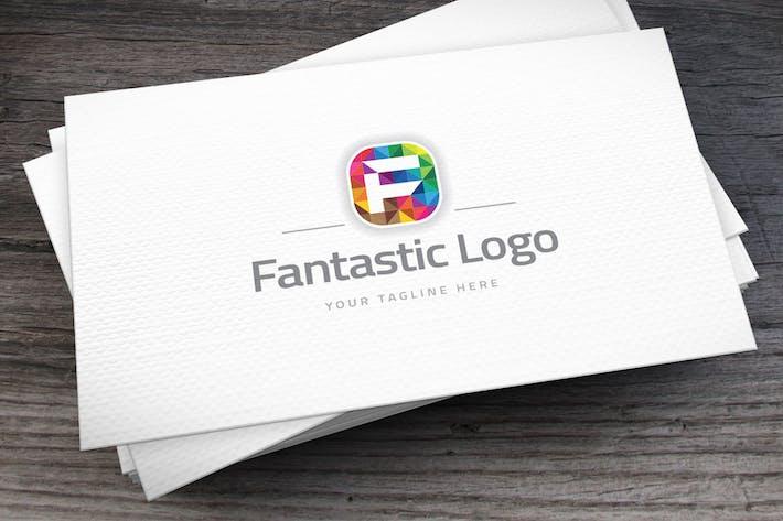 Cover Image For Fantastic Letter F Logo Template