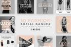 Fashion Social Media Banners - Kit 02