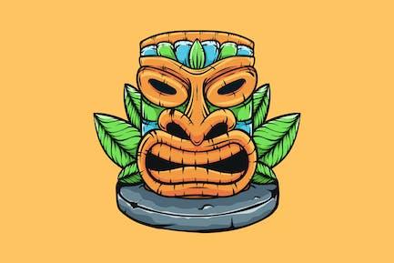 Hawaiian Tiki Totem