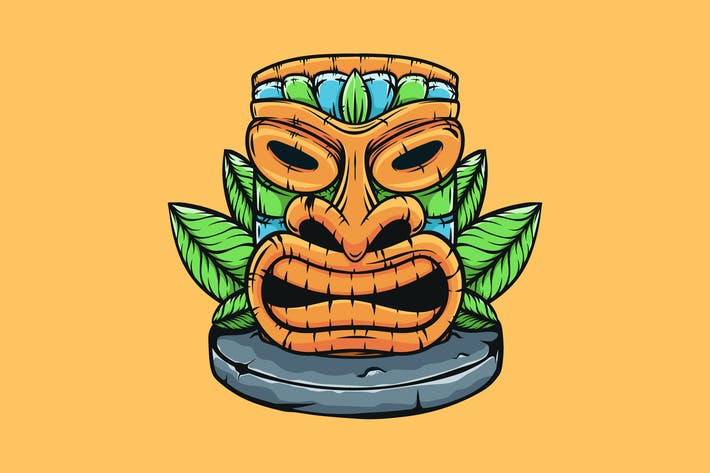 Thumbnail for Hawaiian Tiki Totem