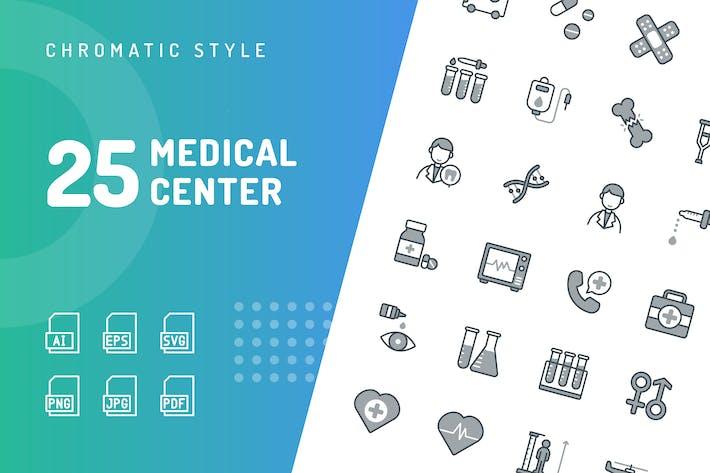 Thumbnail for Медицинский центр Хроматические Иконки