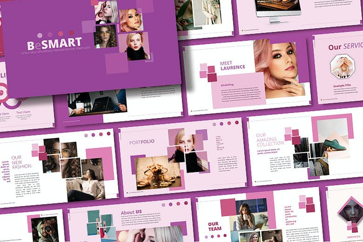 Thumbnail for Besmart - Fashion Powerpoint Template