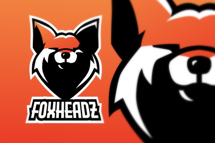 Thumbnail for Fox Head E Sport Logo Illustration