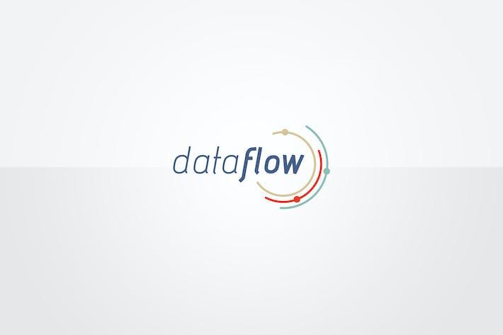 Thumbnail for Шаблон логотипа данных