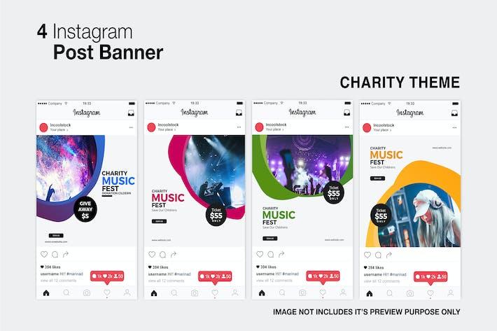 Charity Instagram-Post