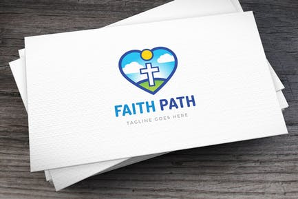 Faith Path Logo Template