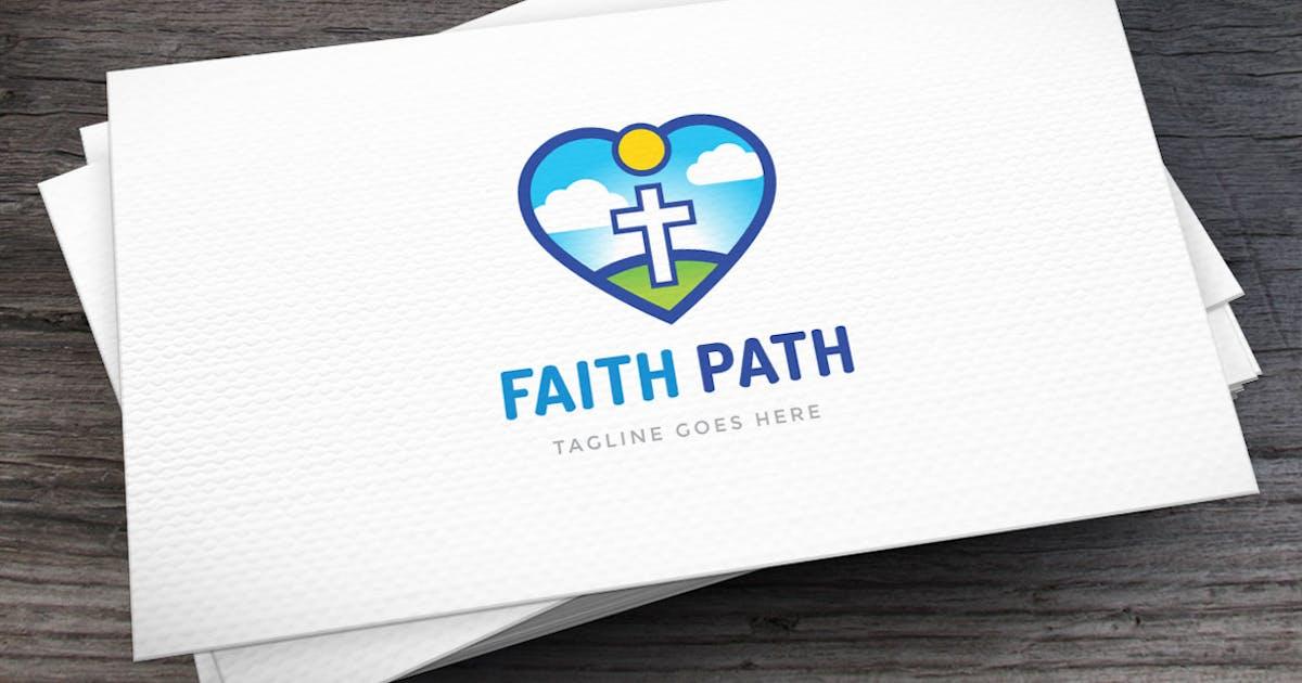 Faith Path Logo Template by empativo