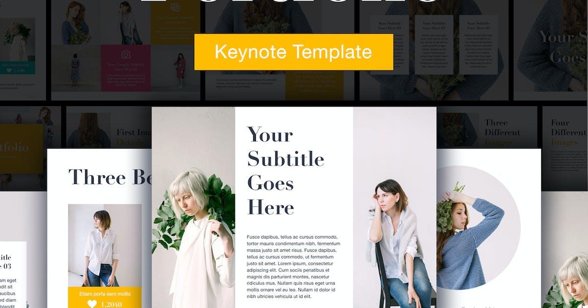 Portfolio Keynote Template by Unknow