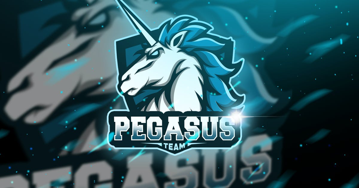 Download Pegasus - Mascot & Logo Esport by aqrstudio