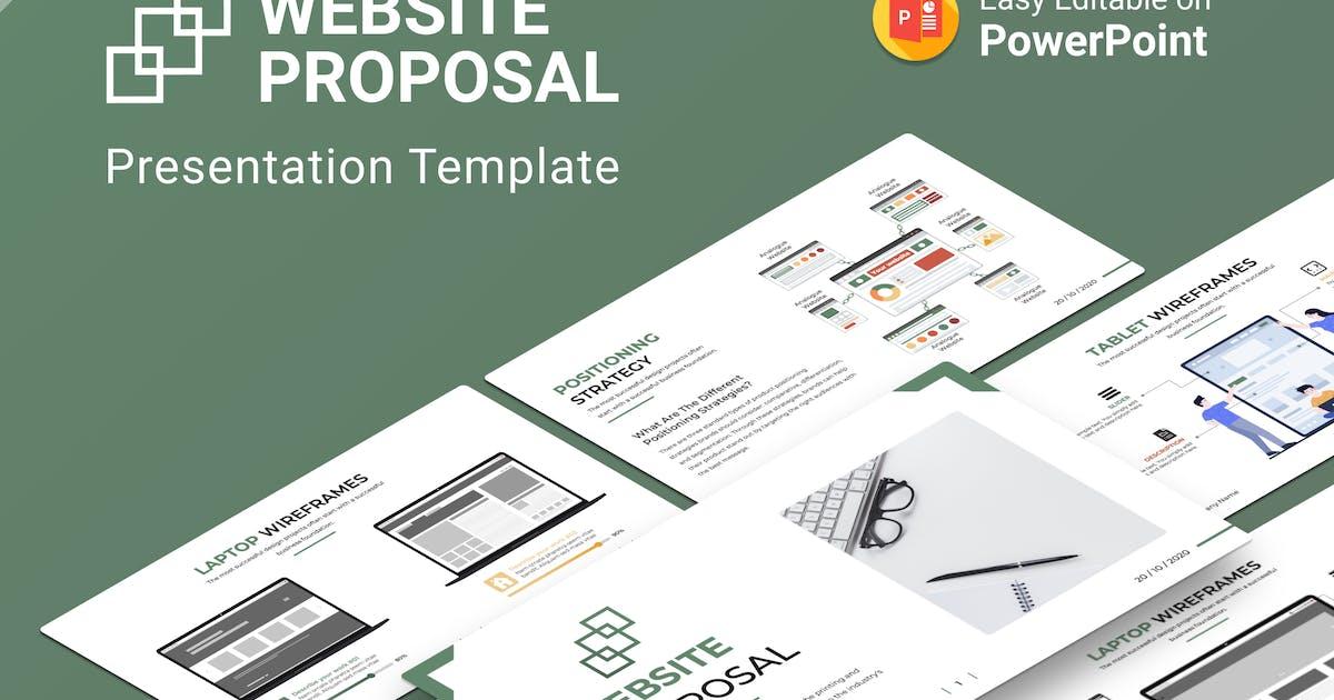 Download Website Proposal PowerPoint Presentation Template by Premast