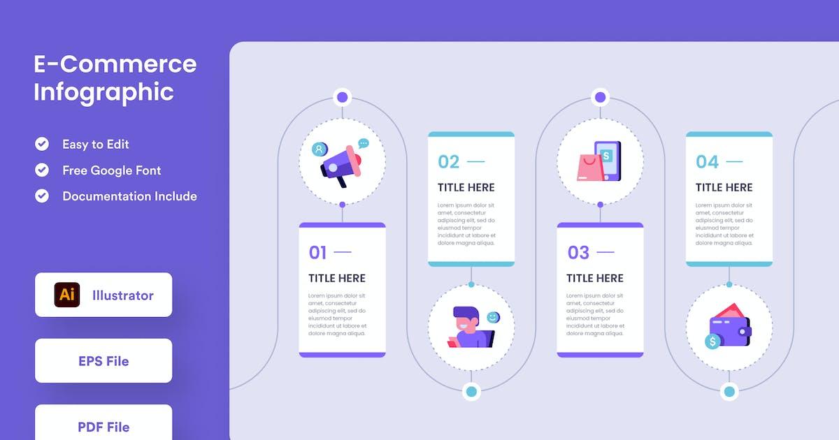 E-Commerce Infographic - Muzitemp by GranzCreative