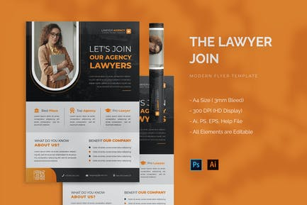 Join Lawyer - Flyer