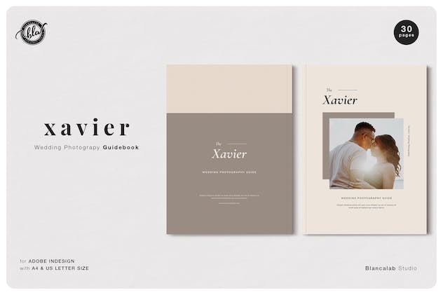 XAVIER Wedding Photography Guidebook