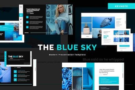 The Blue Sky - Keynote Template