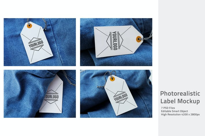 Thumbnail for Photorealistic Label Mockup