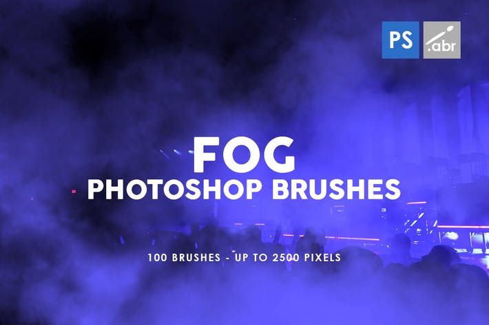 Thumbnail for 100 Fog Photoshop Stamp Brushes