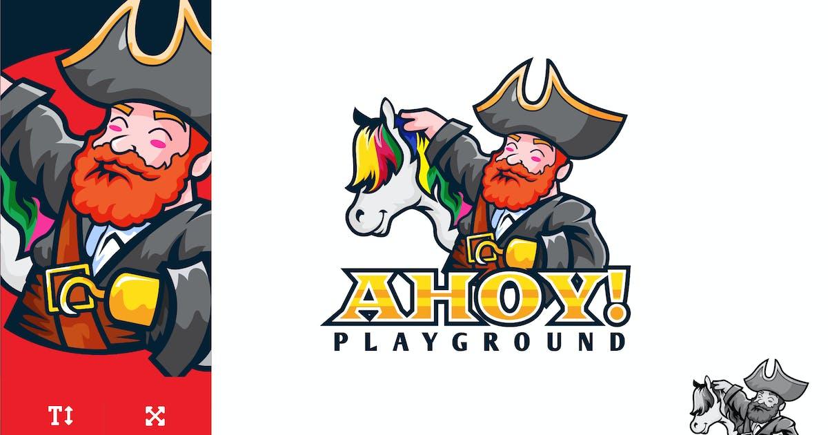 Download Pirate Children Playground Logo Illustration by naulicrea
