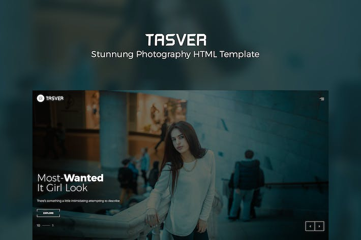 Thumbnail for Photography & Magazine Template | Tasver Photograp