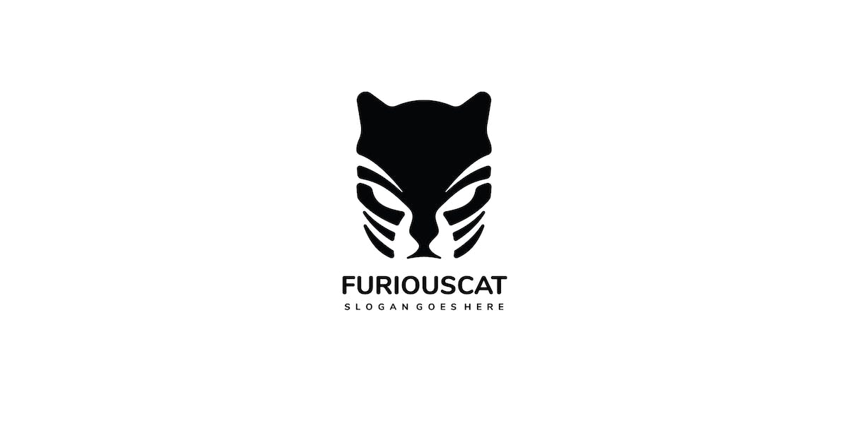 Download Furious Cat Logo by 3ab2ou