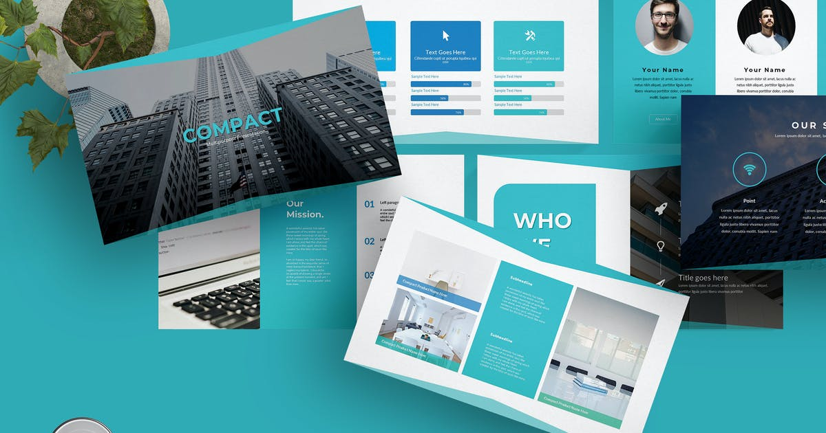 Download Compact - Powerpoint Template by aqrstudio