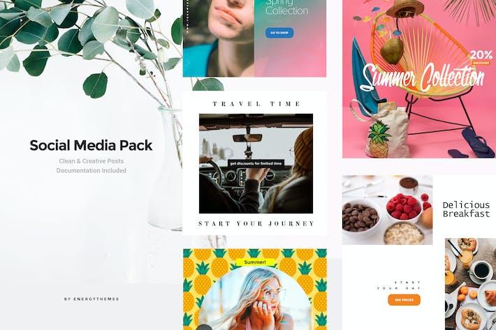 Thumbnail for Social Media Banners - Vol21