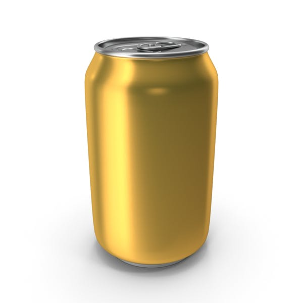 Aluminum Can 330ml Pastel Yellow
