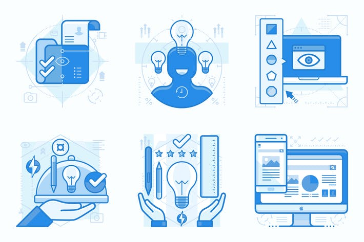 Thumbnail for Graphic Design Services UI UX Illustration