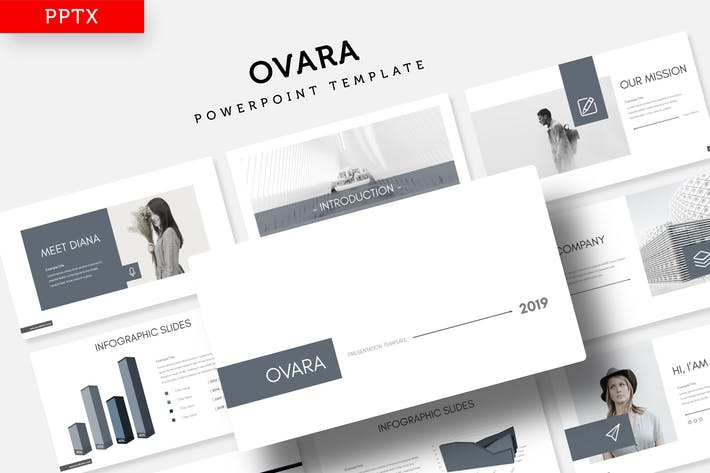Thumbnail for Ovara - Power Point Template