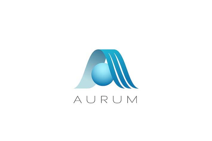Thumbnail for Letter A Logo Elegant style