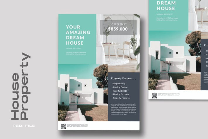 Thumbnail for House Property Flyer