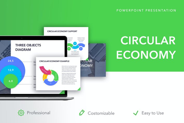 Thumbnail for Circular Economy PowerPoint Template