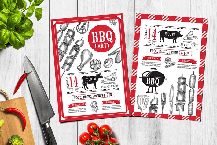 Thumbnail for Bbq Party Invitation
