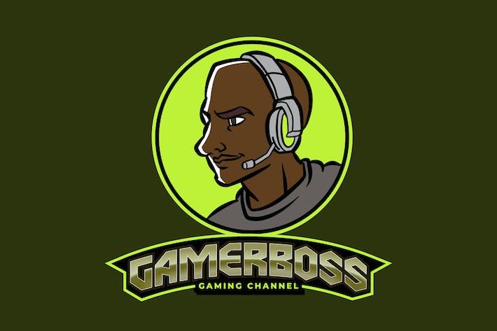 Thumbnail for Male Gamer or Streamer E-Sport Gaming Logo Vol 4