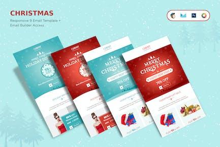 Christmas Offers E-Newsletter + Builder Access