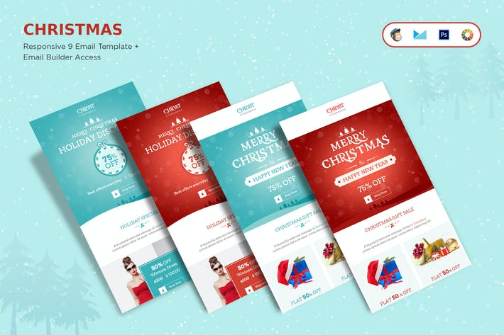Thumbnail for Christmas Offers E-Newsletter + Builder Access