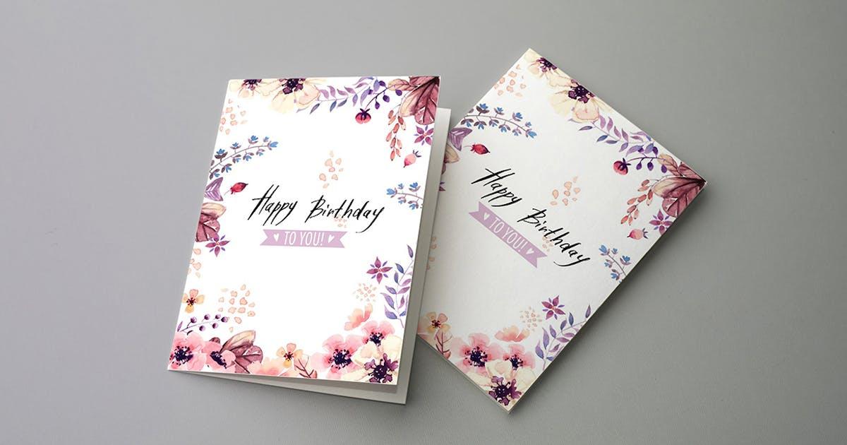Download Invitation & Greeting Card Mockups v2 by 2dsight