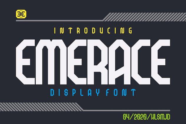 EMERACE Sport Font