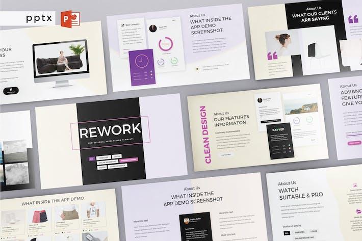 Thumbnail for REWORK - Multipurpose Powerpoint  V213