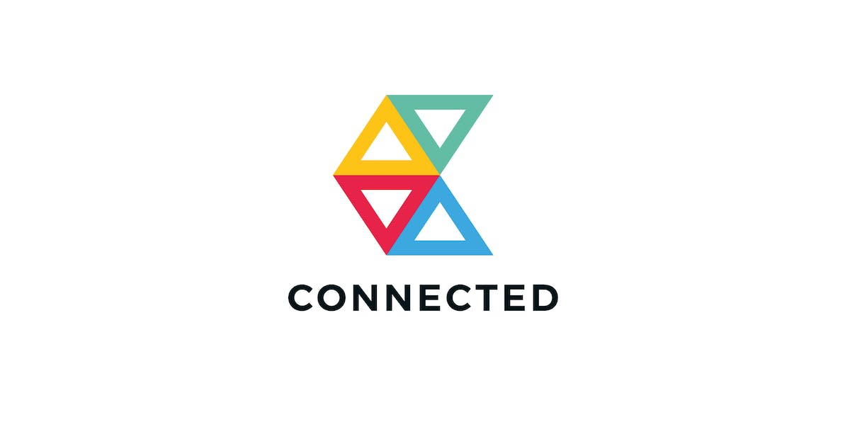 Download Connected C Letter Logo Template by Pixasquare