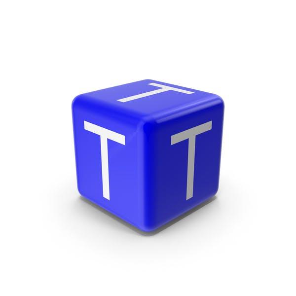 Blue T Block